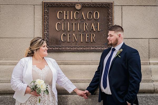 Chicago IL  // Chicago Cultural Center // Melissa&RJ