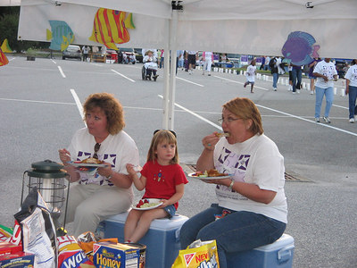 2005 McIntosh County Relay for Life Event