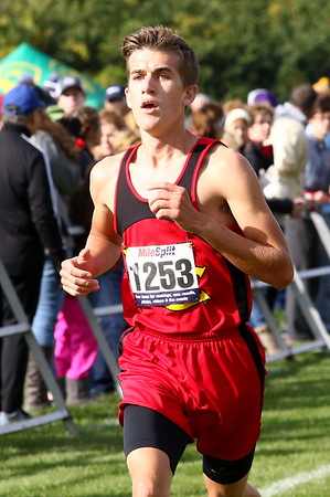 WCHS  Boys and Girls Cross Country Districts at Hilliard Darby