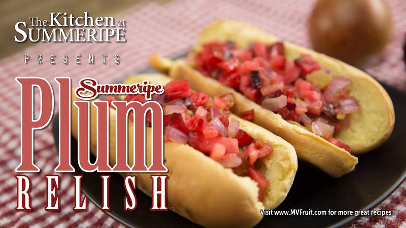 Summeripe Plum Relish