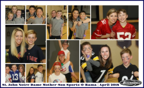 APRIL 13TH, 2018 | St. John Notre Dame Mother-Son Sports-O-Rama