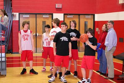 Middle School Boys Basketball 8A - 2007-2008 - 1/7/2008 Grant