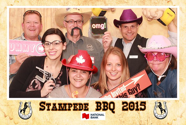 National Bank of Canada Stampede BBQ 2015
