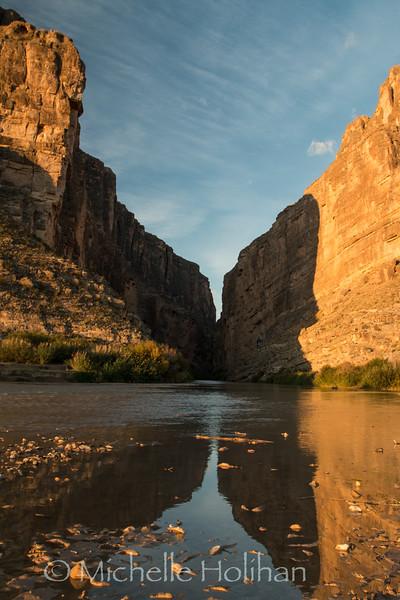 Sunrise at Santa Elena Canyon