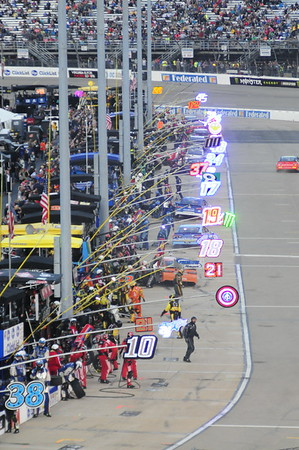 2018 Richmond Raceway  TOYOTA OWNERS 400 Monster Energy NASCAR Cup Series 4-23-18