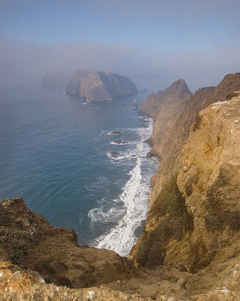 Views from Inspiration Point on Anacapa Island Channel Islands National Park