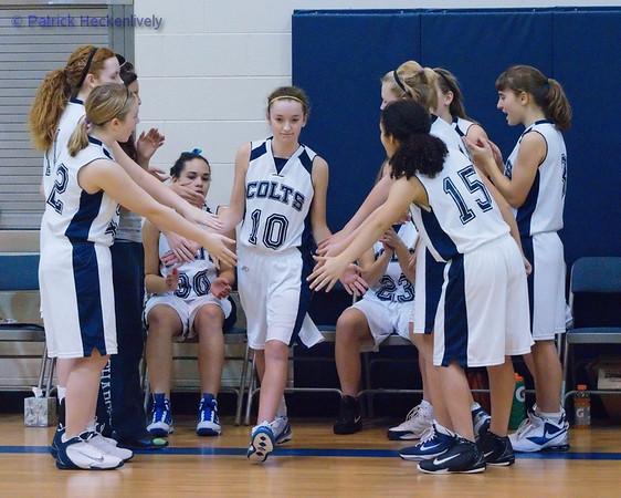 2010-12-03 Girl's JV Basketball