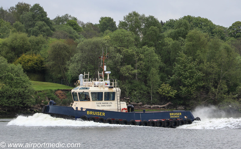 Clyde Tug Bruiser of Clyde Marine Services Ltd