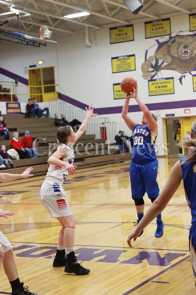 02-25-15  Sports D-IV Girls Sectional Wayne Trace vs Continental at Bryan GBK