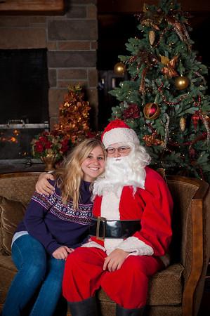 Santa Visits Broken Top 2010
