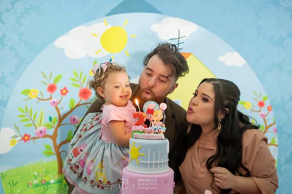 Aniversário da Pepa da Maria Cecilia de 2 Anos