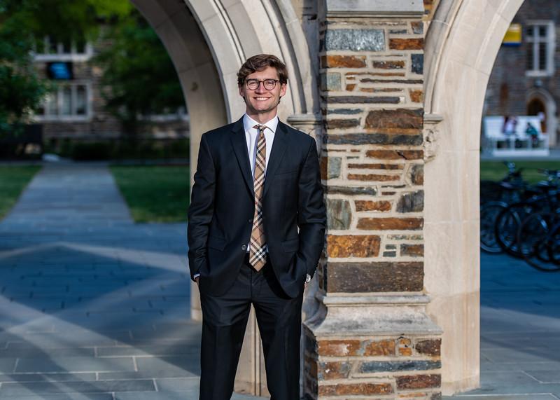 Quinten Sansoti portraits at Duke University. May 13, 2020.