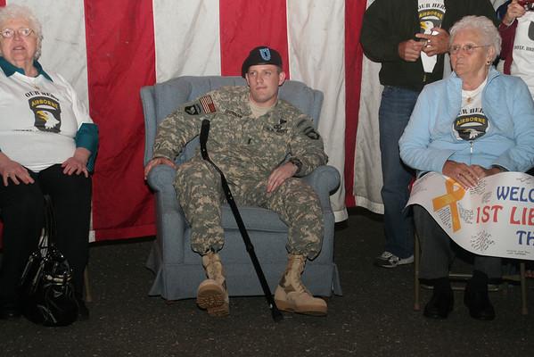 1st Lt Brian Brennan Homecoming 9-19-08