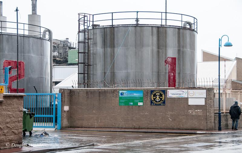 Gibraltar - Water desalination plant