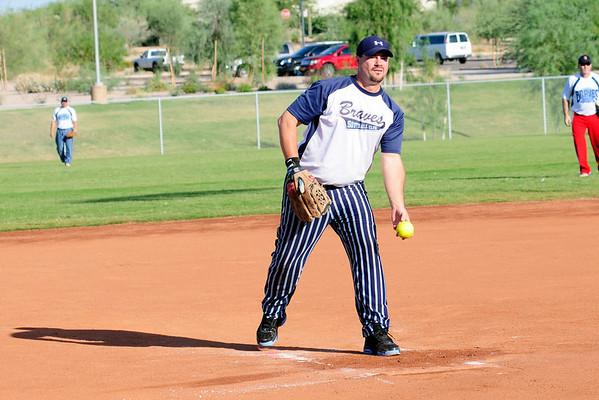 Braves vs MT Softball