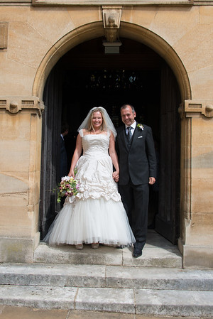 Wedding at Wadham College, Oxford