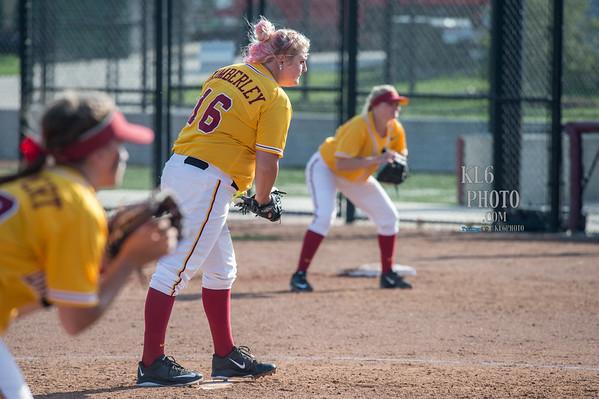 ISU Softball vs Drake 04/26/16