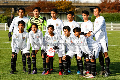 Garuda Select XI vs Port Vale U18s - 13th Nov 2019