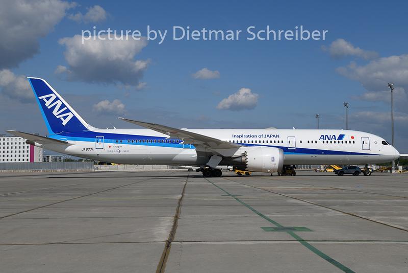 2019-05-07 JA877A Boeing 787-9 All Nippon