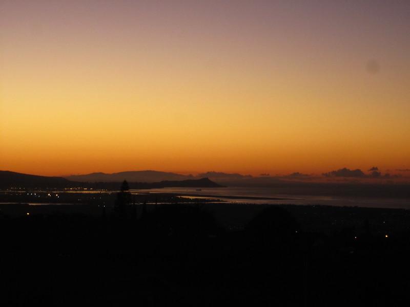 Hawaii - Sunset from Home-1.JPG
