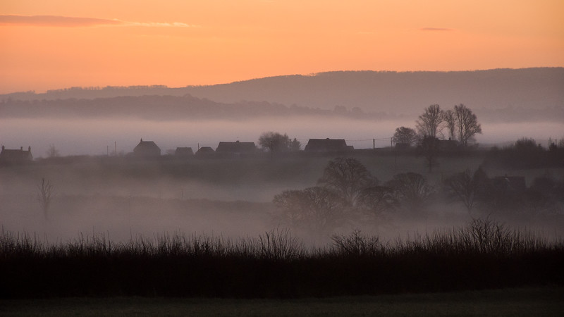 Misty morning in the Blackmore Vale