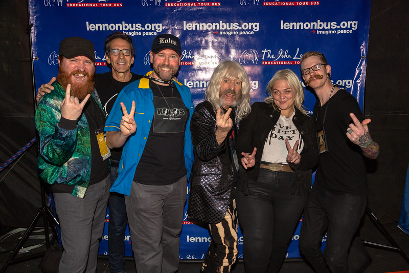 2019_01_26, Anaheim, CA, Imagine Party, NAMM, Brian Rothschild, Elle King, Names