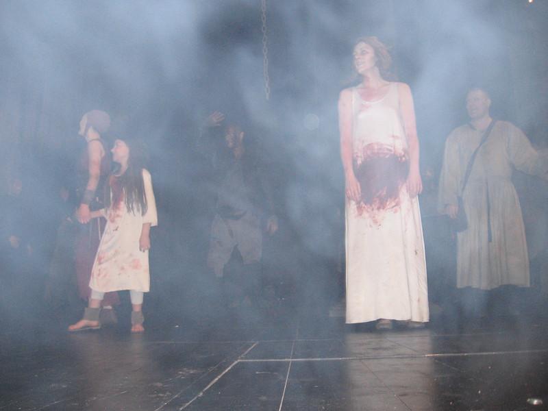 Lady Macbeth through the fog.