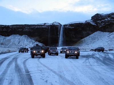 Þórsmörk janúar 2007