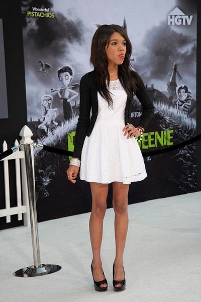 HOLLYWOOD, CA: Actress Teala Dunn arrives at the Premiere Of Disney's 'Frankenweenie' at the El Capitan Theatre on Monday, September 24, 2012 in Hollywood, California. (Photo by Tom Sorensen/Moovieboy Pictures)