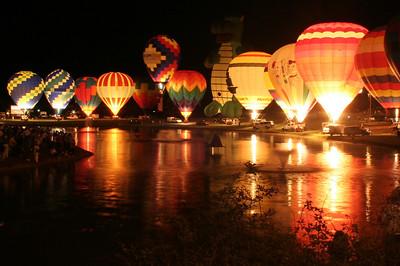 Pellissippi State Balloon Glow