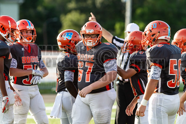 Edgewater Eagles @ Boone Braves JV Football - 2018