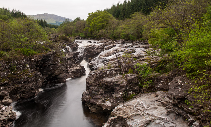 River Orchy in the Highlands of Scotland
