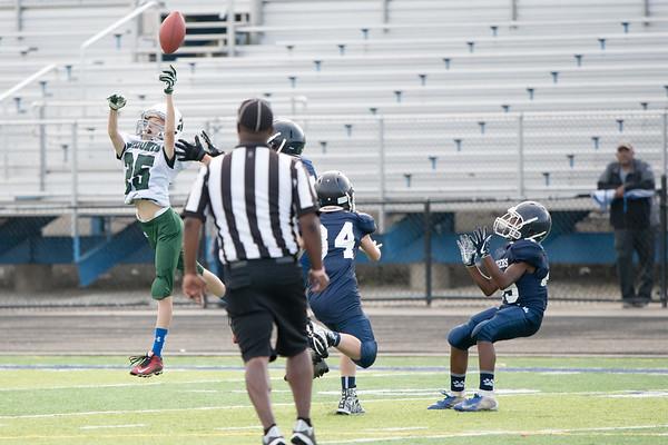 Justin 7th Grade Football vs. Twinsburg