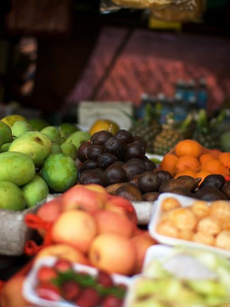 Fruktmarked, Sabah (Foto: GeirI