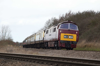 D1015 on the main line 2013-16