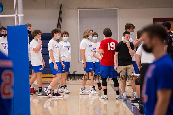 2021-5-27 WHS Boys Volleyball vs Londonderry Sr Nt