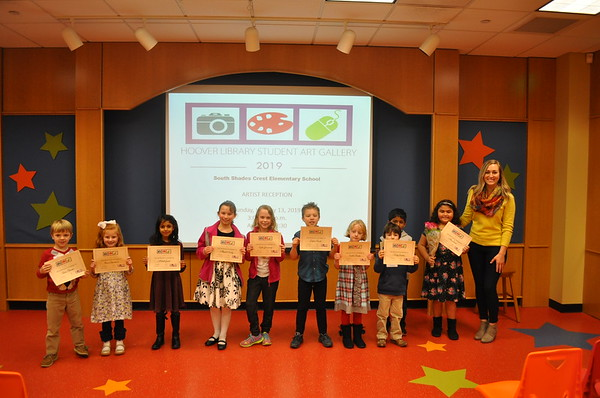 South Shades Crest Elementary  Reception - January 2019