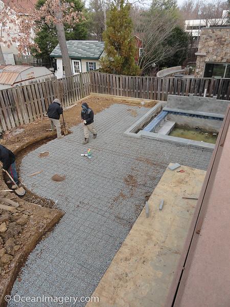 20170126 Arlington, VA. - Backyard Project Part 4