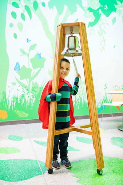 Aiden's Bell Ringing & Celebration