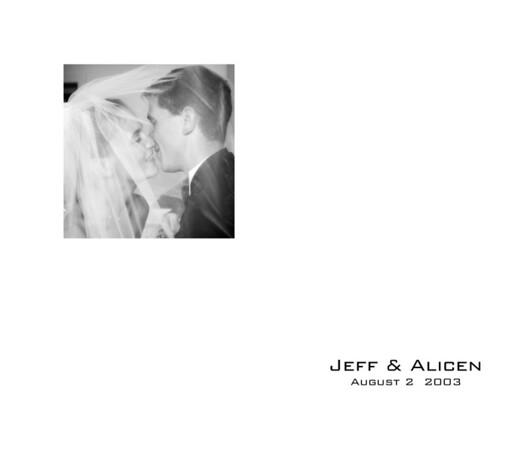 Alicen nad Jeff Album