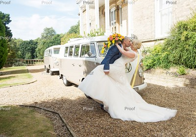 Elaine and Rich at Ponsbourne Park Hotel