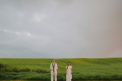 Eric + Kris // Waimea Backyard Wedding