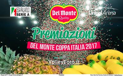 Premiazioni #DelMonteCoppa