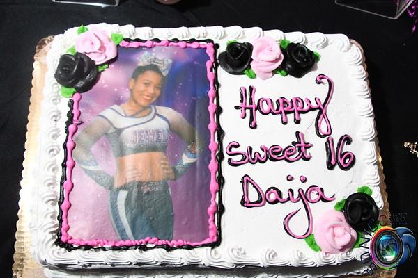 DECEMBER 1ST, 2018: DAIJA'S SWEET 16
