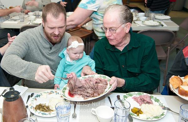 Hartland's Roast Beef Supper