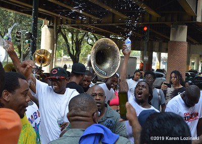 Da Truth Picnic and Second Line   Everybody Gets Wet!