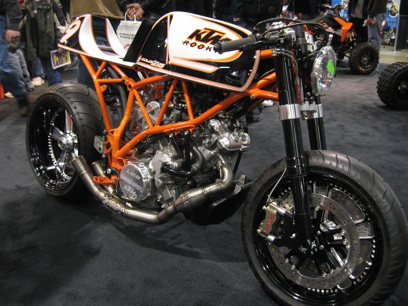 KTM #9 bike