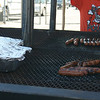 Bulldog Booster's grill in action