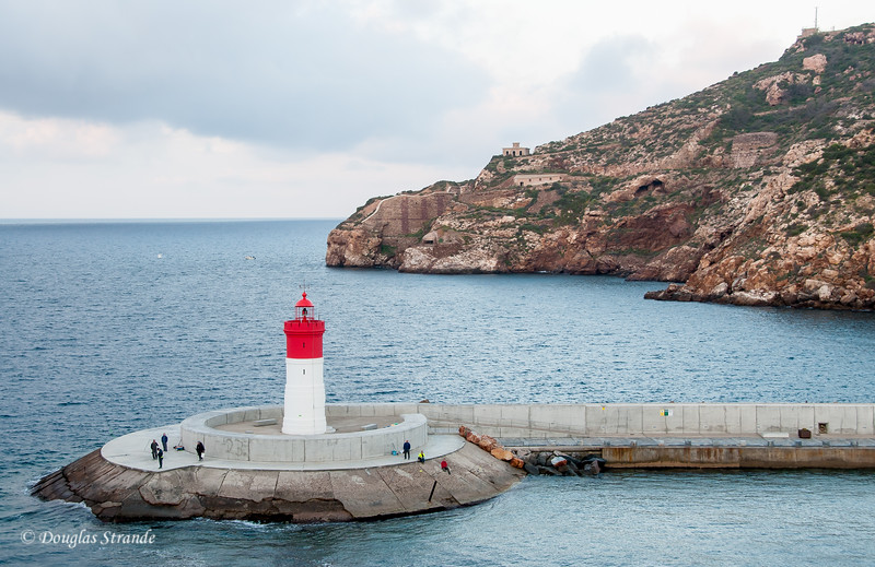 Cartagena, Spain - Lighthouse of Fuerte de Navidad