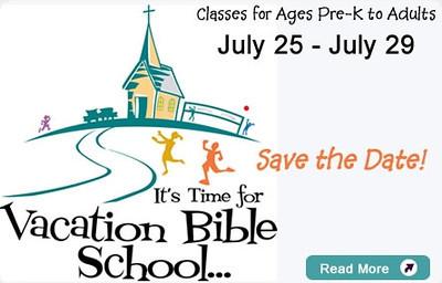 Vacation Bible School -- 2011